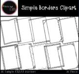 Simple Borders / Page Borders {Set #1}