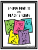 Simple Brights with Black and White