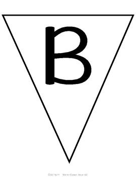 Simple Bulletin Board Pennants
