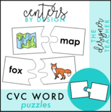 Centers by Design: CVC Word Puzzles