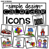Simple Calendar Event Icons