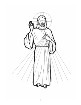 Simple Catholic Coloring & Learning Book