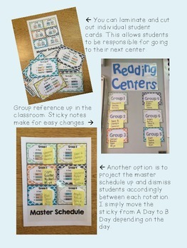 Simple Center Management System that WORKS for the primary classroom
