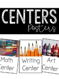 Center Signs (Room Decor Posters)