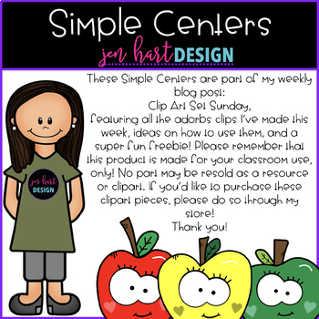 Simple Centers - Gingerbread Number Puzzles 1-20 {Vol.4}