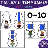 Simple Centers - Tally and Ten Frame Puzzles {Vol. 2}