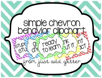 Simple Chevron Behavior Clipchart