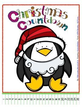Simple Christmas Countdown Freebie!