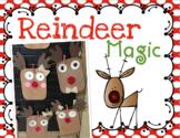 Reindeer Christmas Glyph & Art Kinder Craft- Simple & Easy