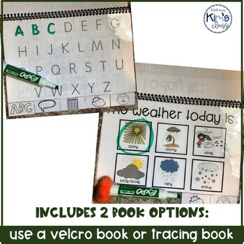 Simple Circle Time Flip Books for Special Education