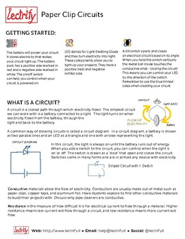 Simple Circuits: Hands-on Activity to Explore Electronics