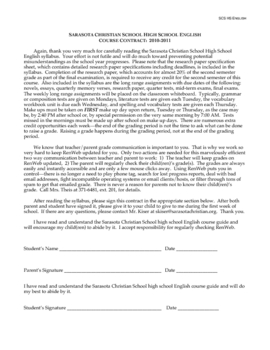 Simple Class Contract