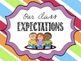Simple Class Expectations Posters for Primary