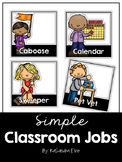Simple Classroom Jobs