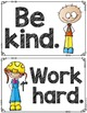 Simple Classroom Rules-posters and activities
