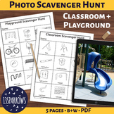 Simple Photo Scavenger Hunt: Classroom and Playground