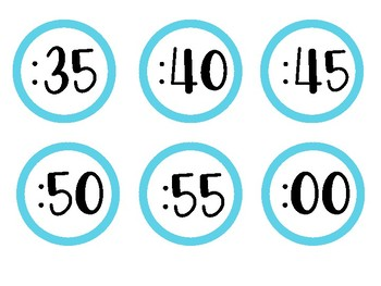 Simple Clock Labels