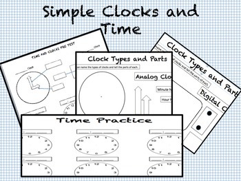 Simple Clocks and Time