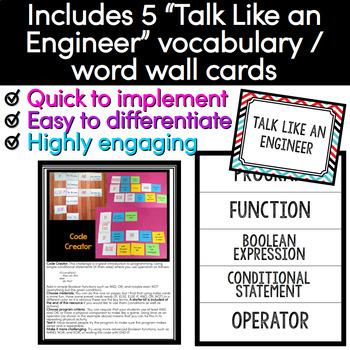 Simple Code STEM Challenge - Quick STEM Activity