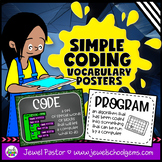 Simple Coding Vocabulary Posters