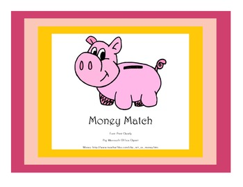 Simple Coin Match Game