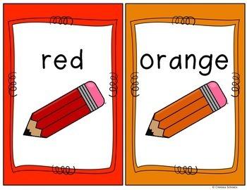 Simple Color Posters {Freebie}
