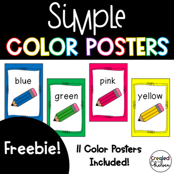 Simple Color Posters