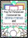 -FREE- Simple Rectangular and Circular Frames and Chevron