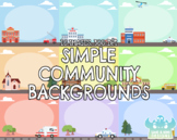Simple Community Backgrounds (Lime and Kiwi Designs)