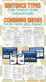 Take the guessing out of sentence types & errors with a ma