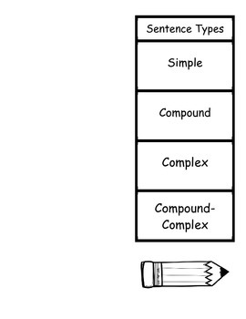 Simple Compound Complex Foldable