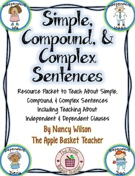 Simple, Compound, & Complex Sentences