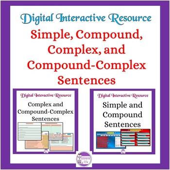 Simple, Compound, Complex, and Compound-Complex Sentences Interactive : Google