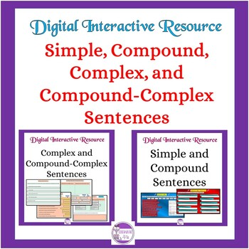 Simple, Compound, Complex, and Compound-Complex Sentences Interactive : Google