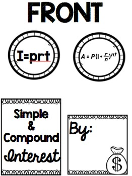 Simple & Compound Interest Lapbook
