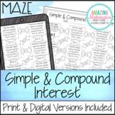 Simple & Compound Interest Maze