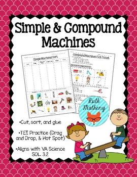 Simple & Compound Machines - VA Science SOL 3.2