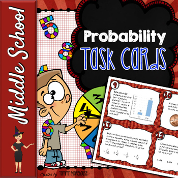 Probability, Simple & Compound Task Cards