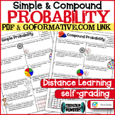 Simple & Compound Probability Distance Learning PDF & GOFORMATIVE.COM