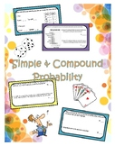 Simple & Compound Probability Worksheet