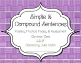 Simple & Compound Sentences L.2.1.F