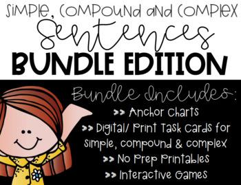Simple, Compound, and Complex [BUNDLE]