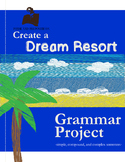Simple, Compound, and Complex Sentence Practice: Create a Resort Brochure