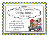 Simple, Compound and Complex Sentence Task Cards