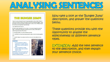 Simple, Compound and Complex Sentences!