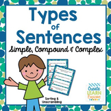 Simple Compound and Complex Sentence Activities
