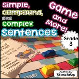 Simple Sentences, Compound Sentences, and Complex Sentences