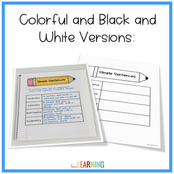 Simple, Compound, and Compl... by Love Learning | Teachers Pay ...