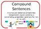 Simple, Compound and Complex Sentences Posters