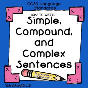Simple, Compound, and Complex Sentences Powerpoint